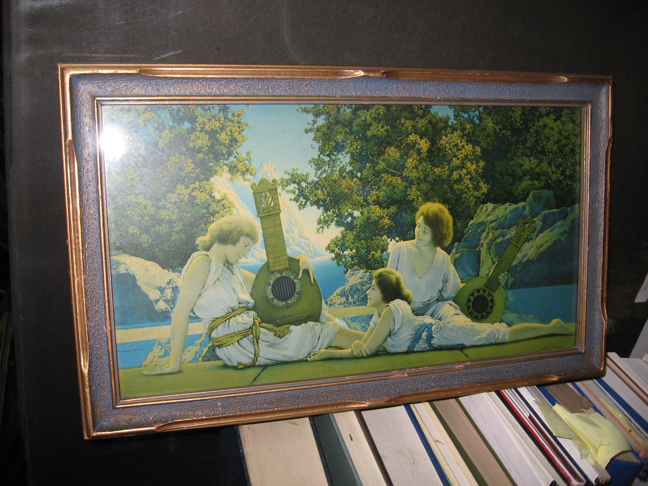Maxfield Parrish Page Art Vintage Ltd.